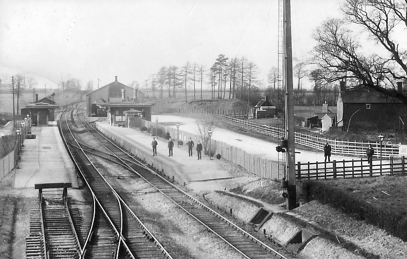 Shrivenham Station circa 1910, about 20 years after the accident. Photo courtesy of Paul Williams