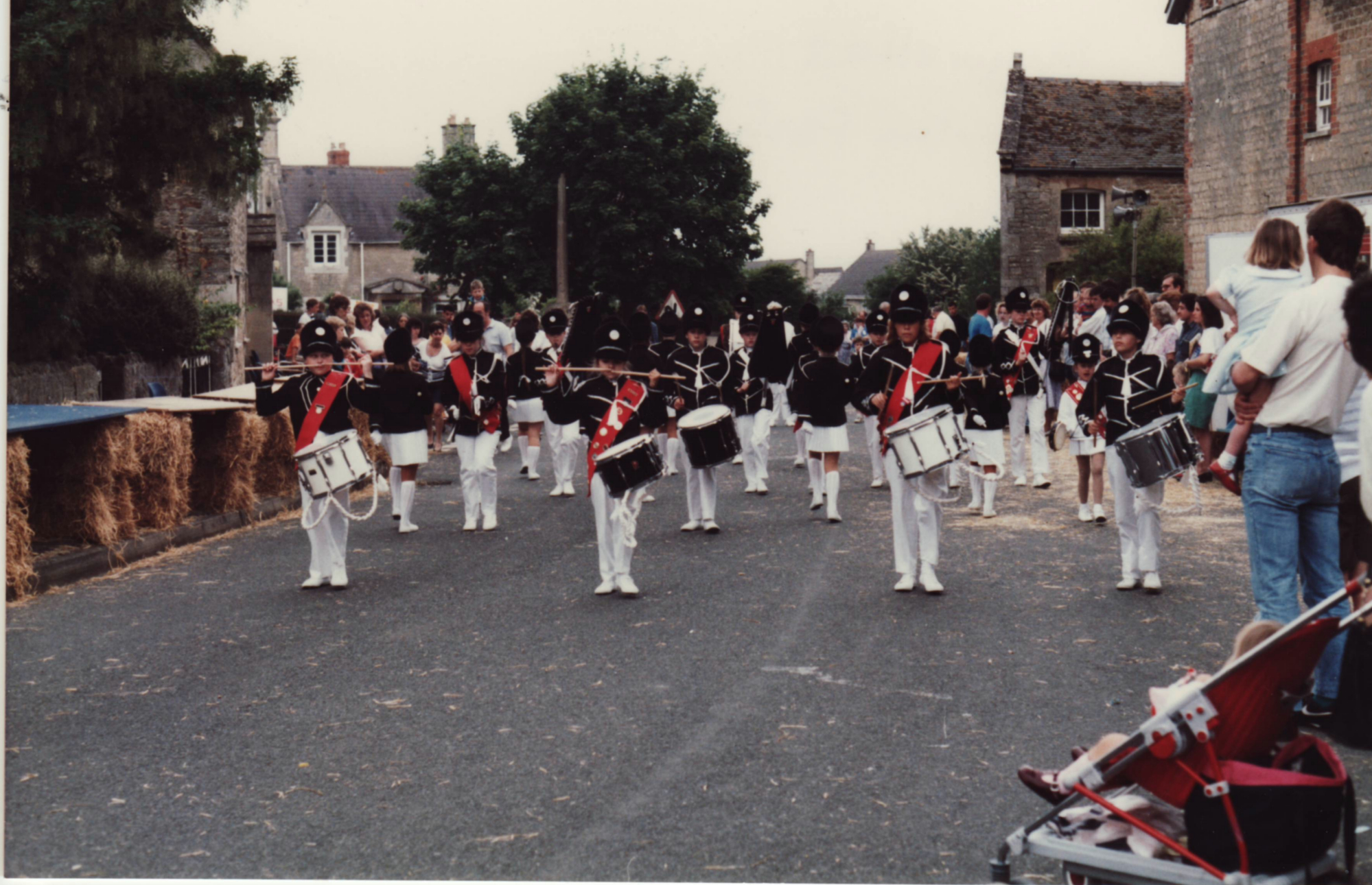 The Majorettes at Bourton
