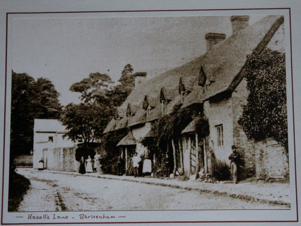 Shrivenham, Hazell's Lane, four cottages
