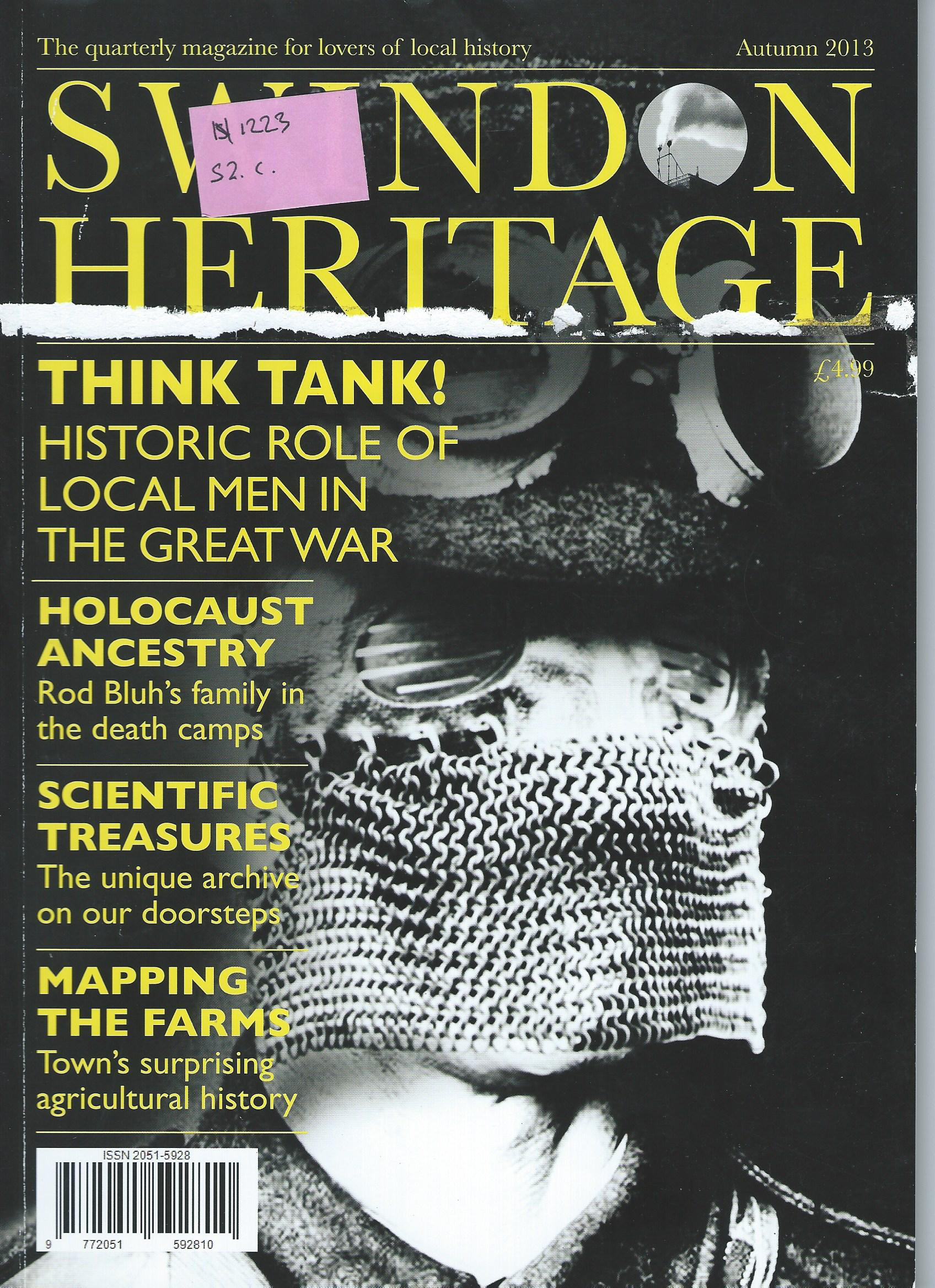 Front cover of Autumn 2013