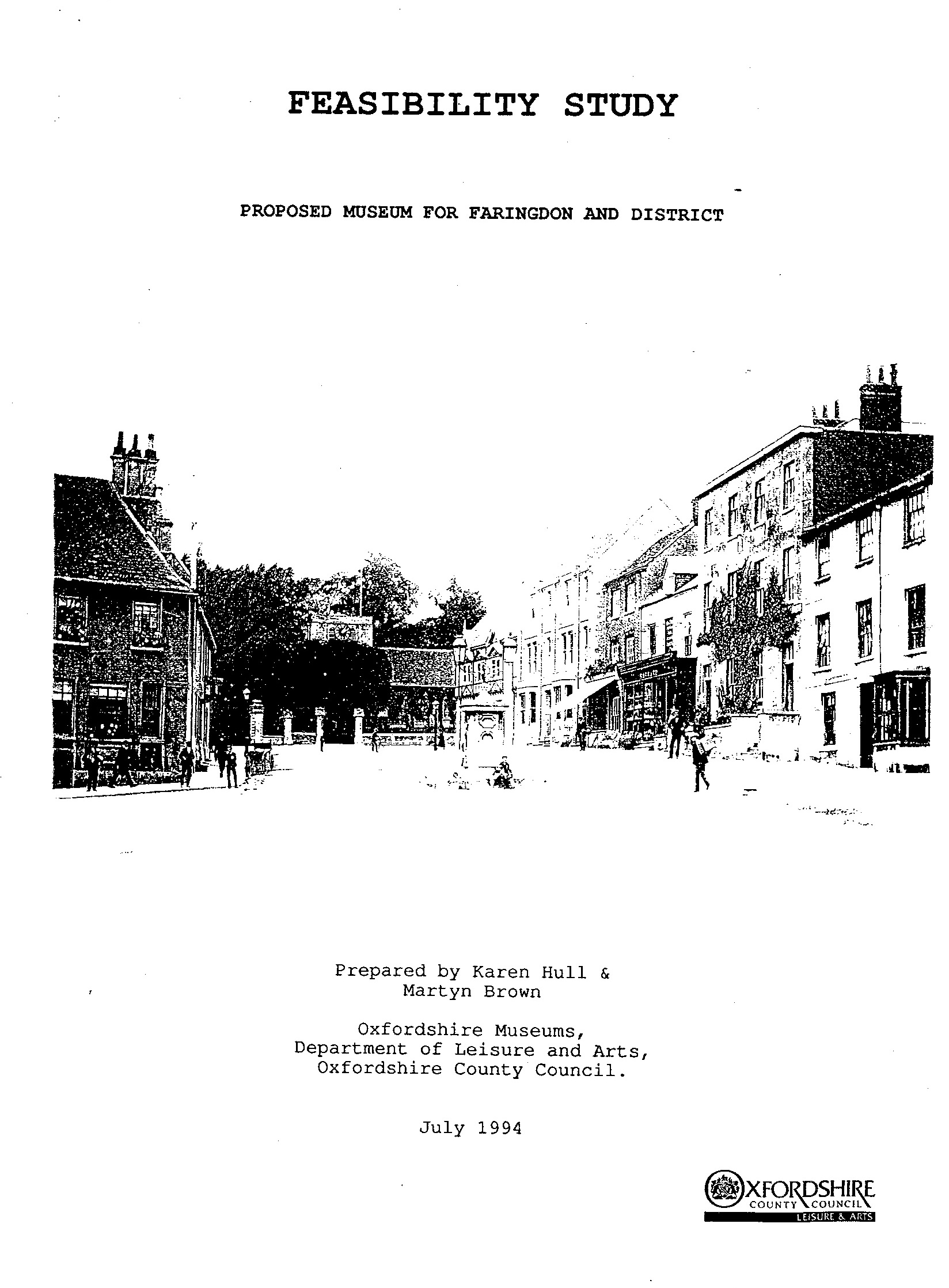The front cover of the document