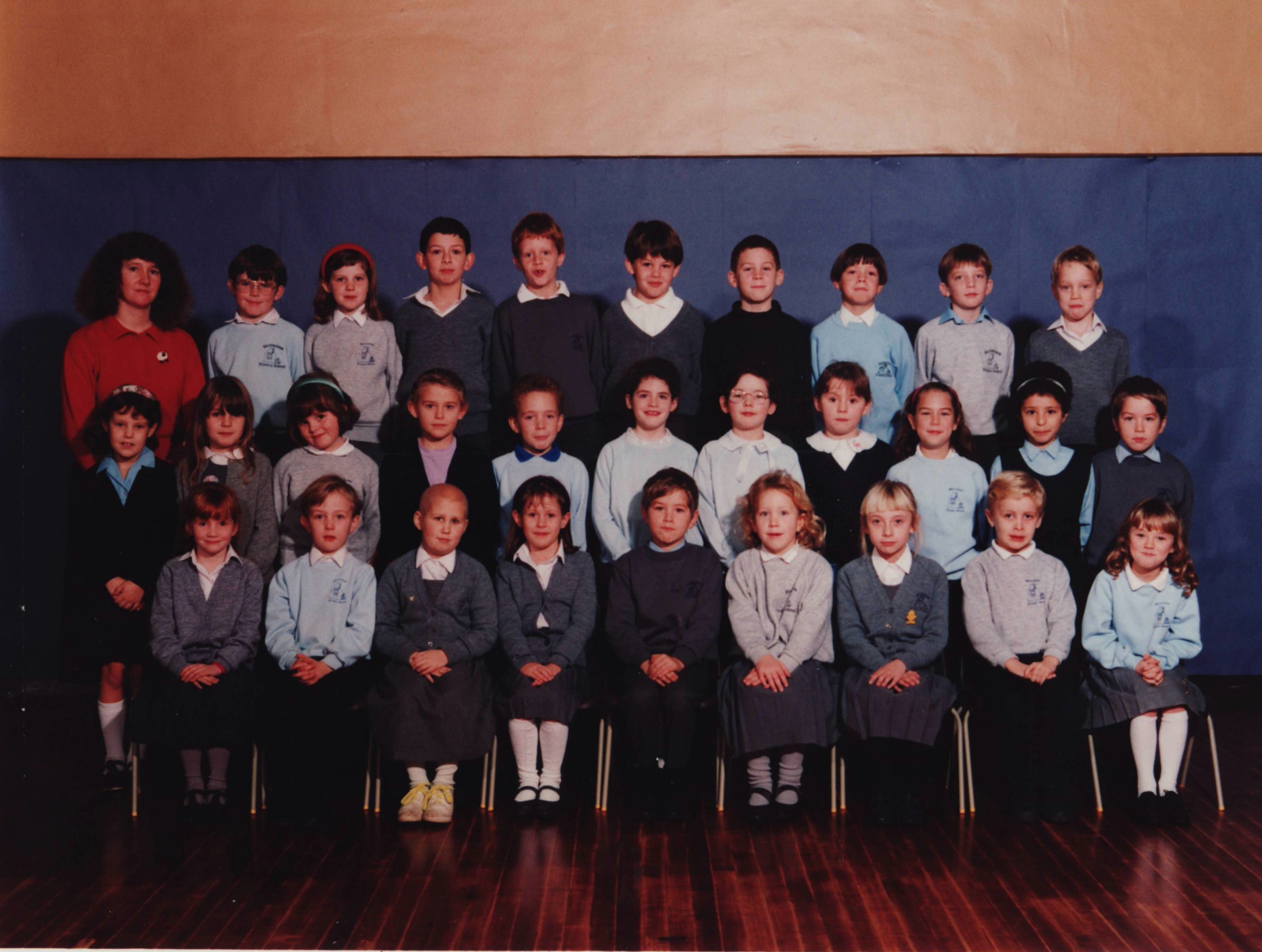 Miss Nicholl's class of the 1990's