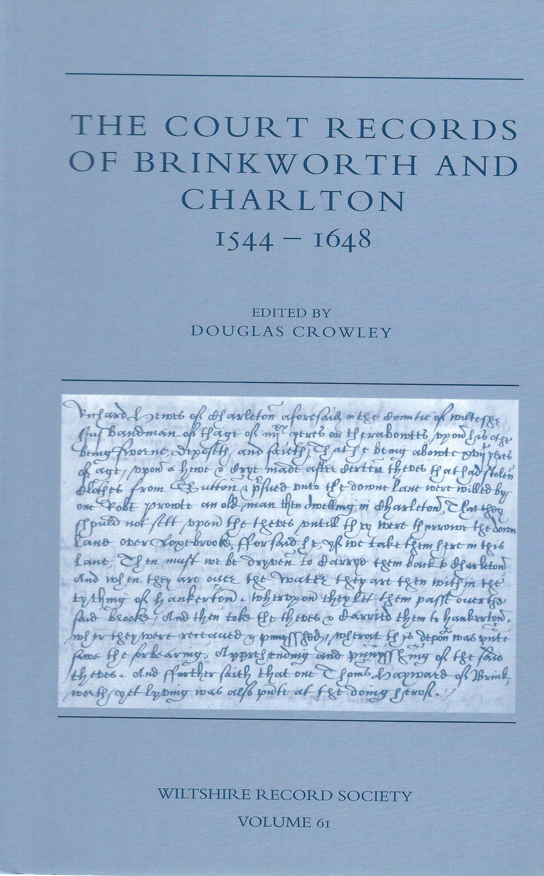 Court Records of Brinkworth and Charlton