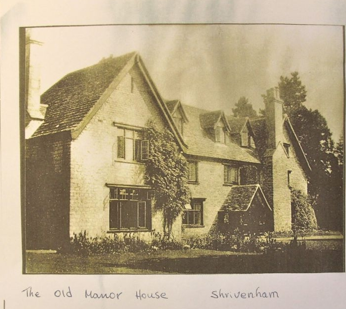 The Old Manor House, Shrivenham circa 1935
