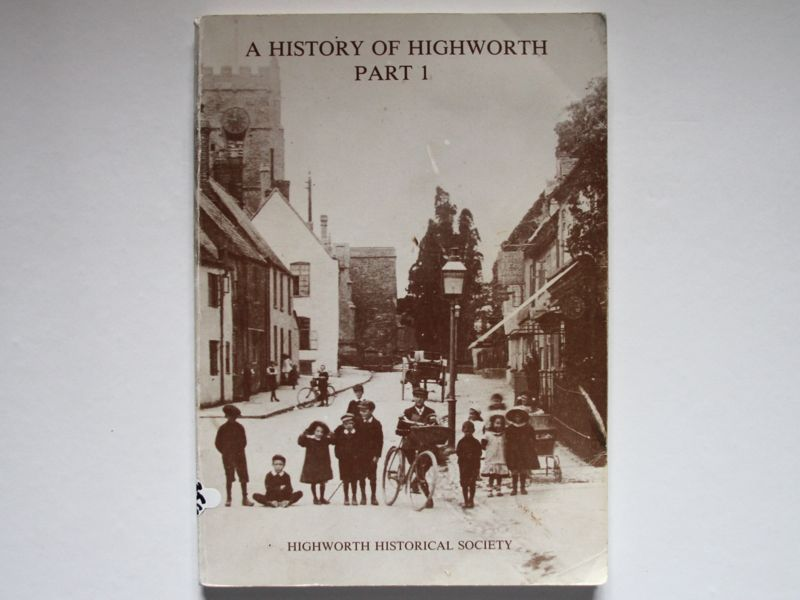 History of Highworth book