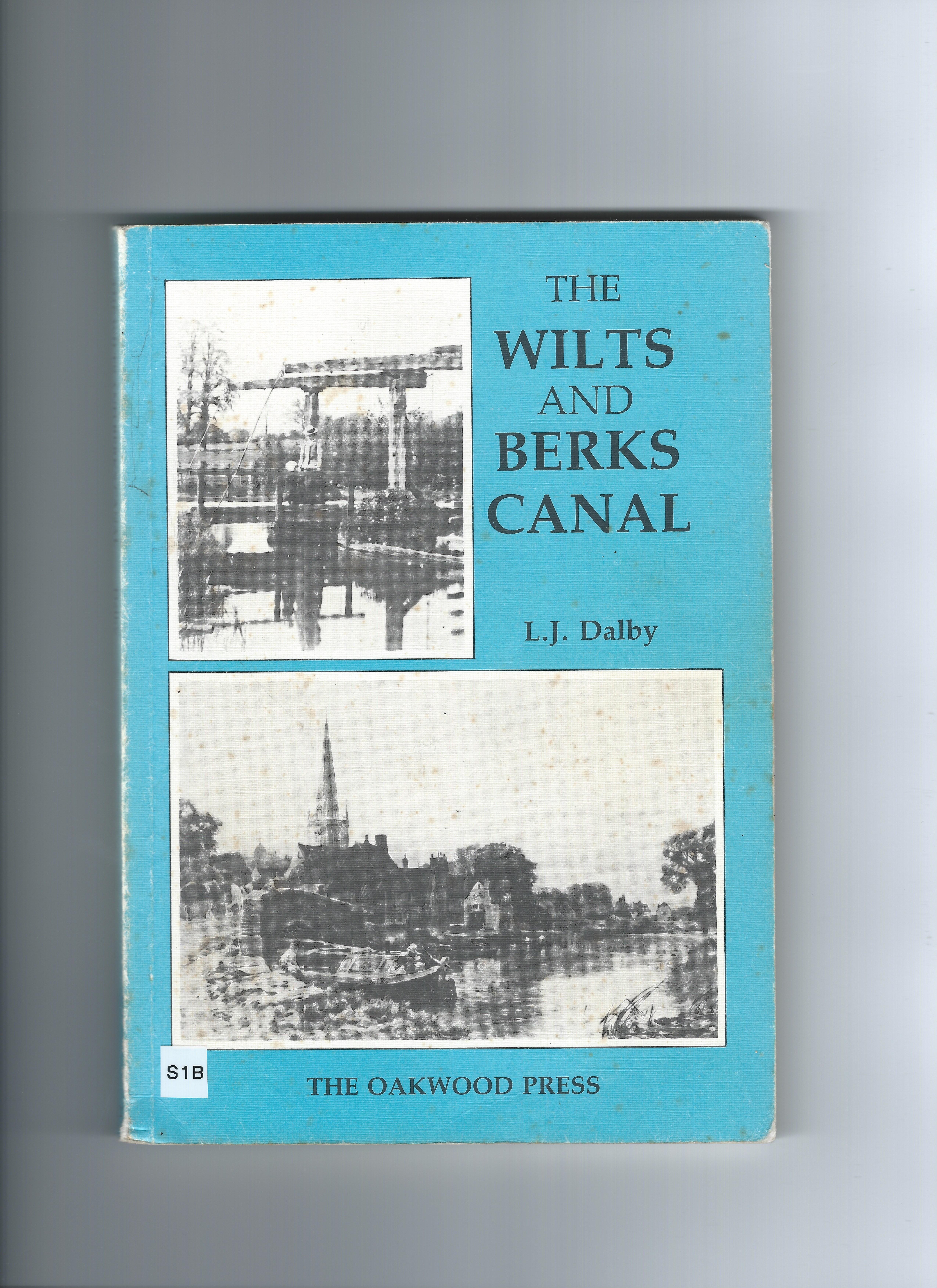 Wilts & Berks Canal front cover