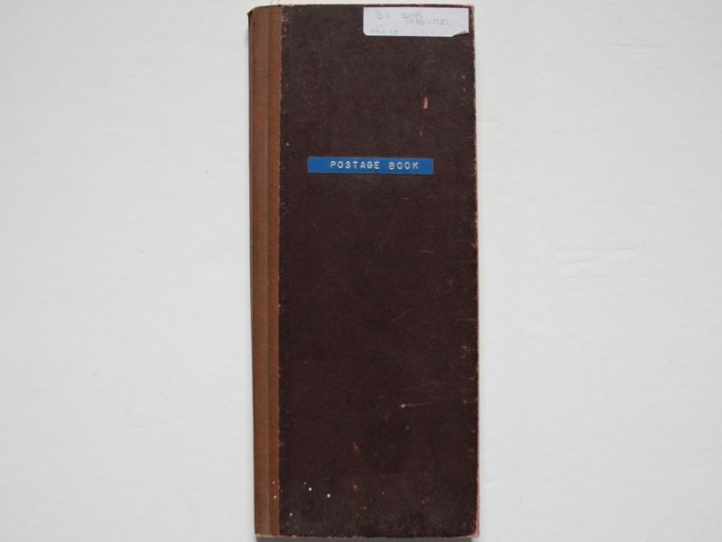 Postage Book Shrivenham Parish Council 1970-82
