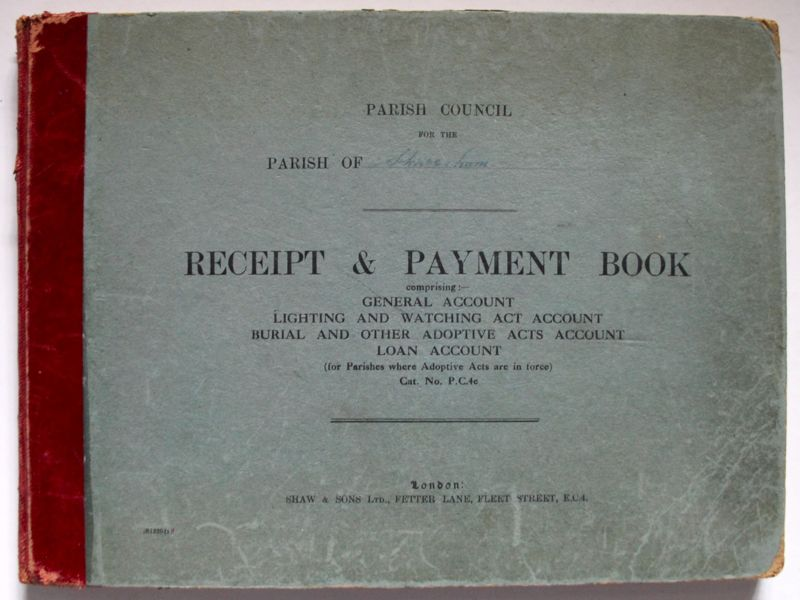 Account of Receipt and Payments Book