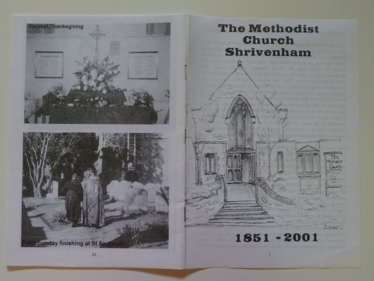 History of Shrivenham Methodist church
