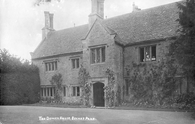 The Dower House in 1910. Photo courtesy of Paul Williams