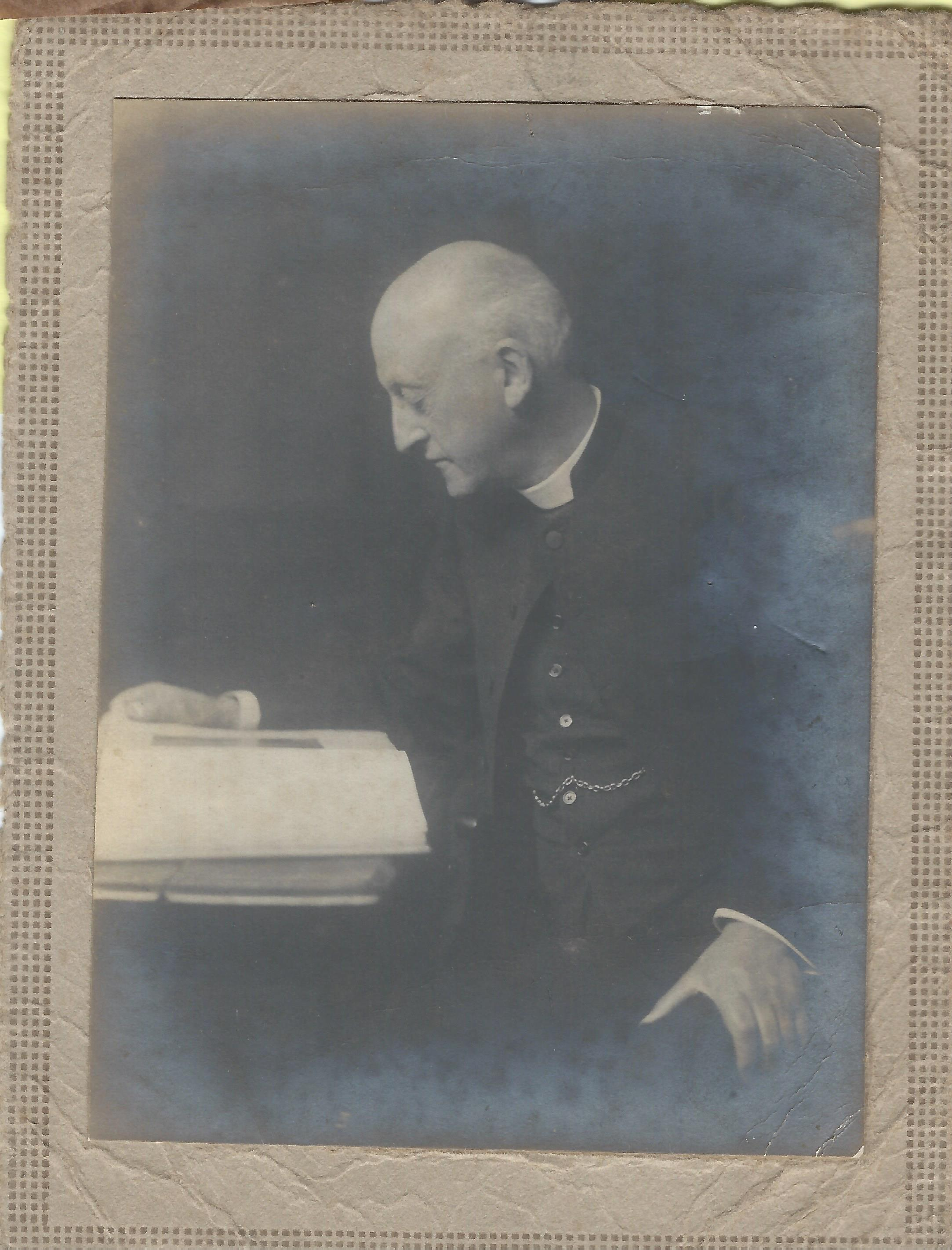 The Rev Edward F. Hill