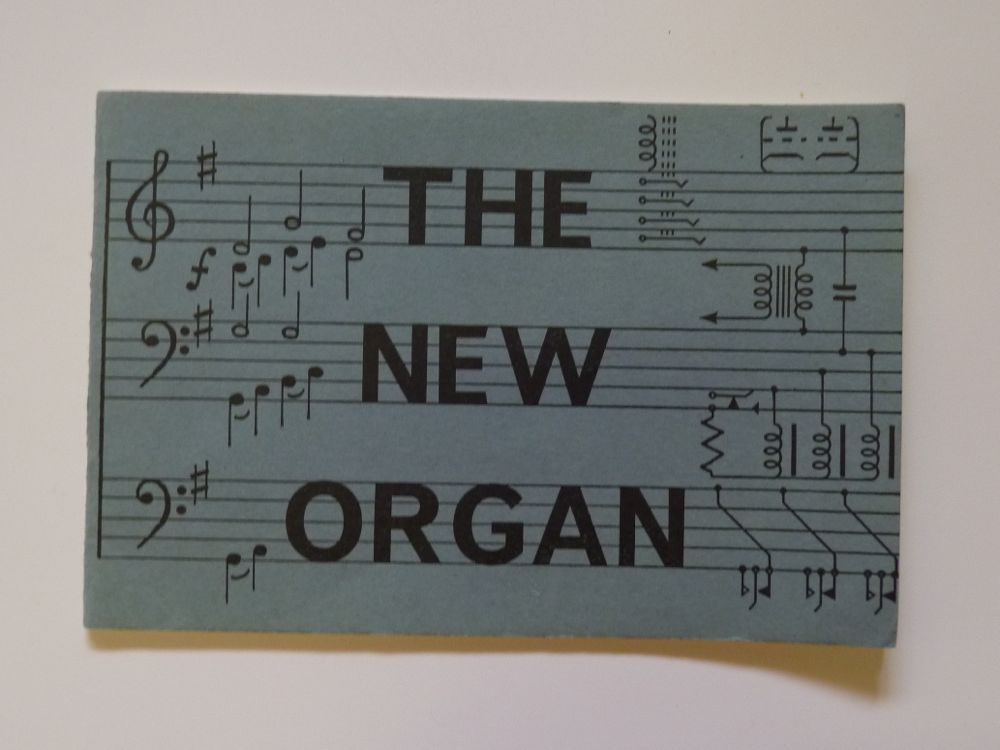 The New Organ booklet