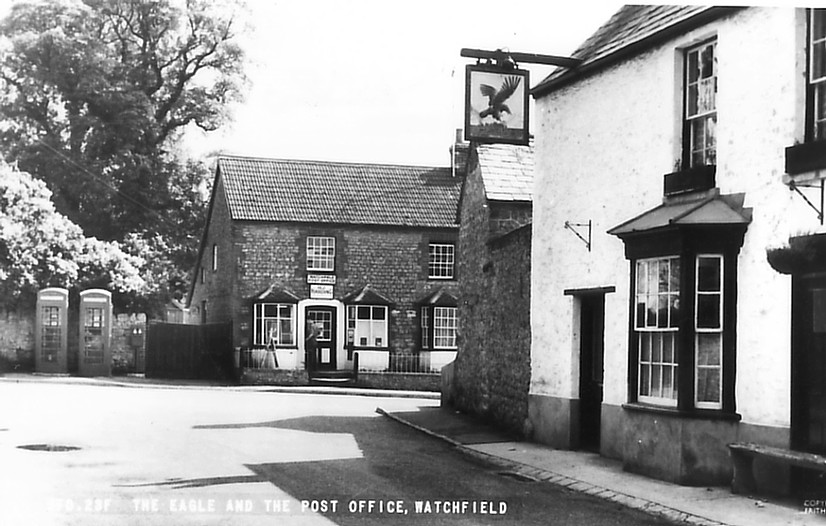 The Post Office from the 1950s. Photo courtesy of Paul Williams