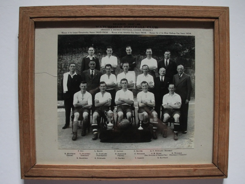 Watchfield Football Club 1947-48 photo