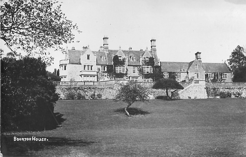 Bourton House circa 1910, home of the Butlers. Photo courtesy Paul Williams