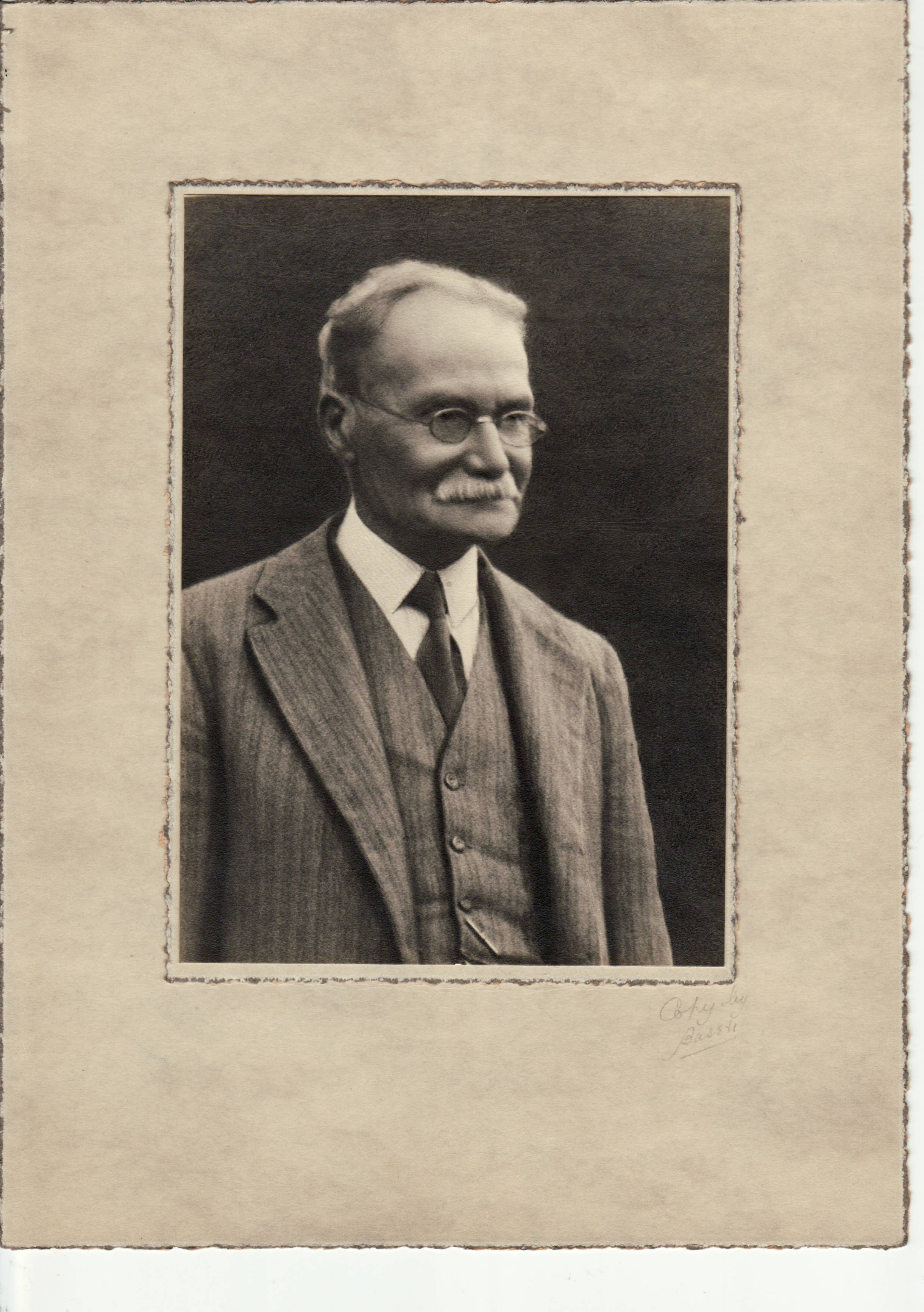 Henry Olliver - Father of Nurse Edith