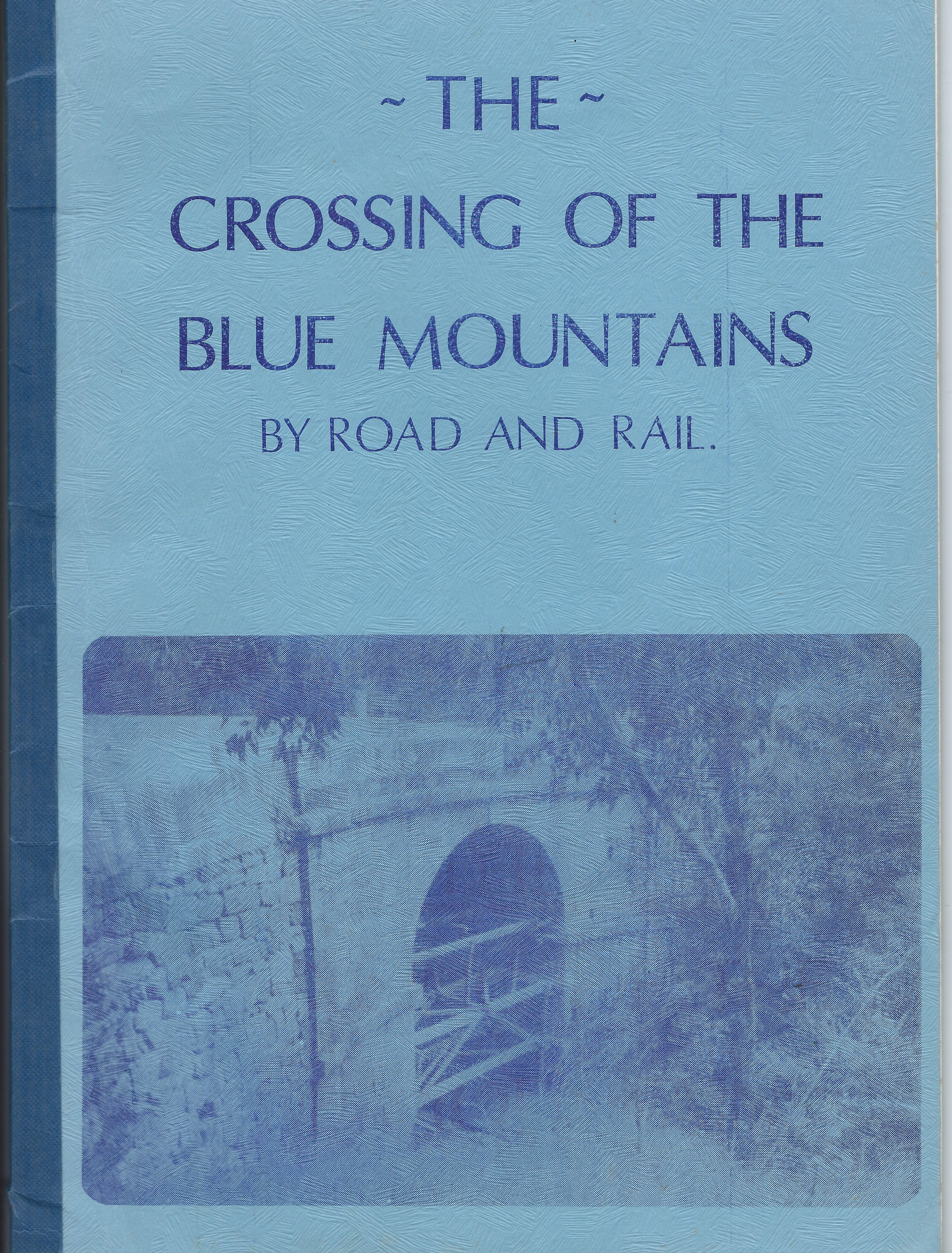 Crossing the Blue Mountains front cover