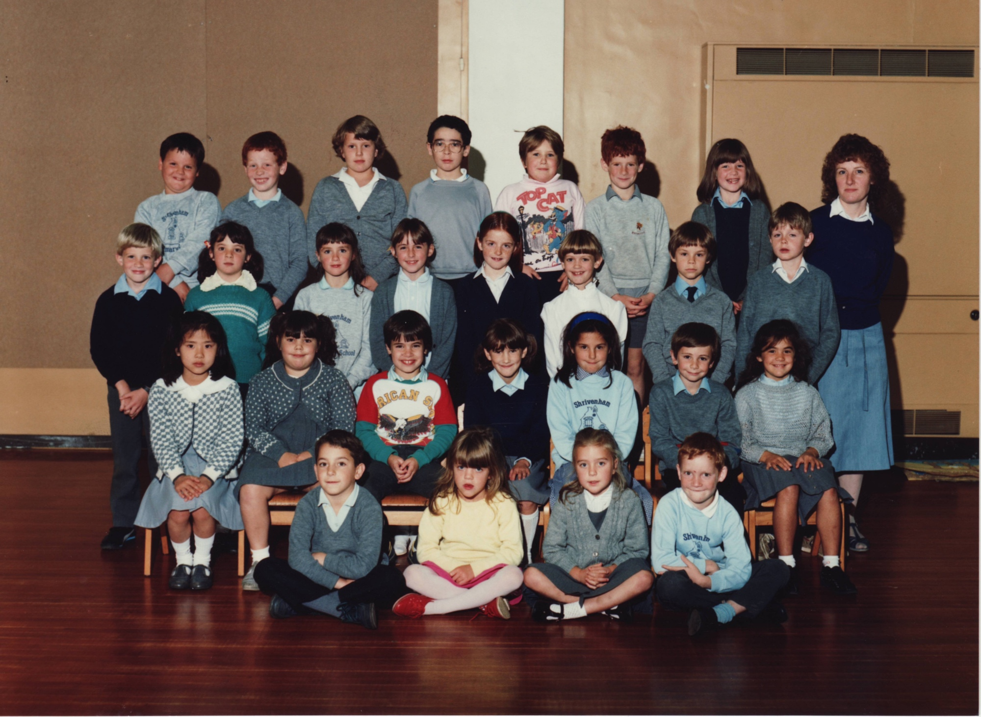 Shrivenham School Class of Sept 1988