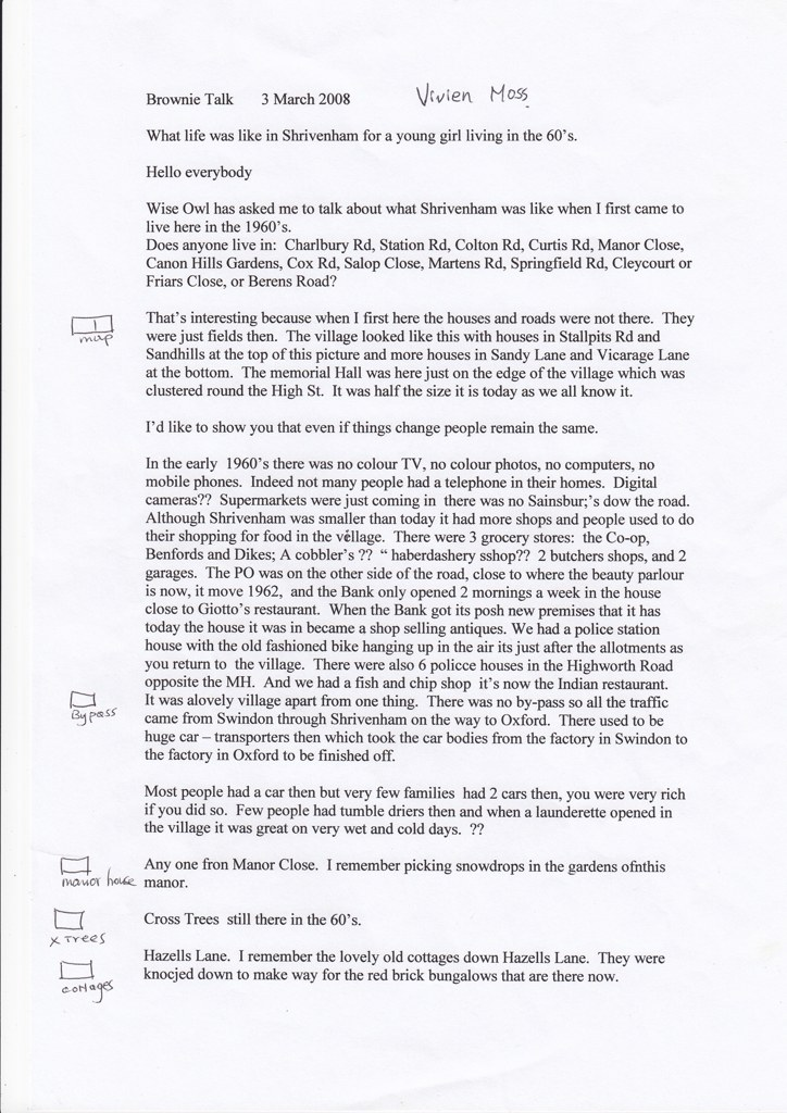 Brownie Talk Page 1