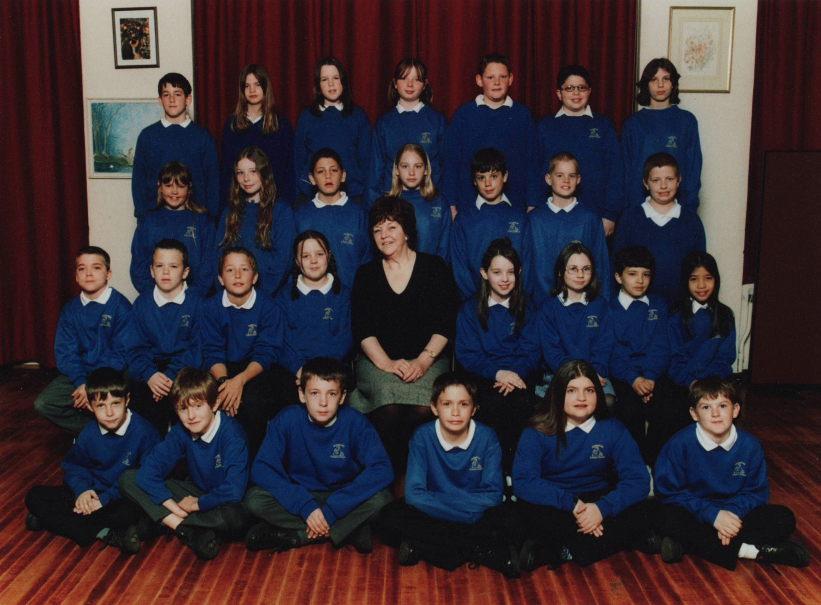 Sue Currie's class of the 1990's