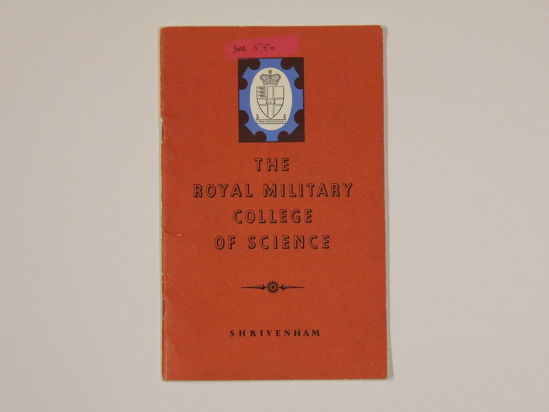 The Royal Military College of Science book cover