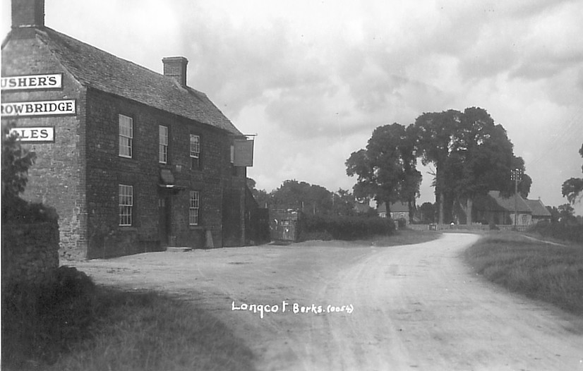 The King & Queen Inn at Longcott circa 1925. Photo courtesy of Paul Williams