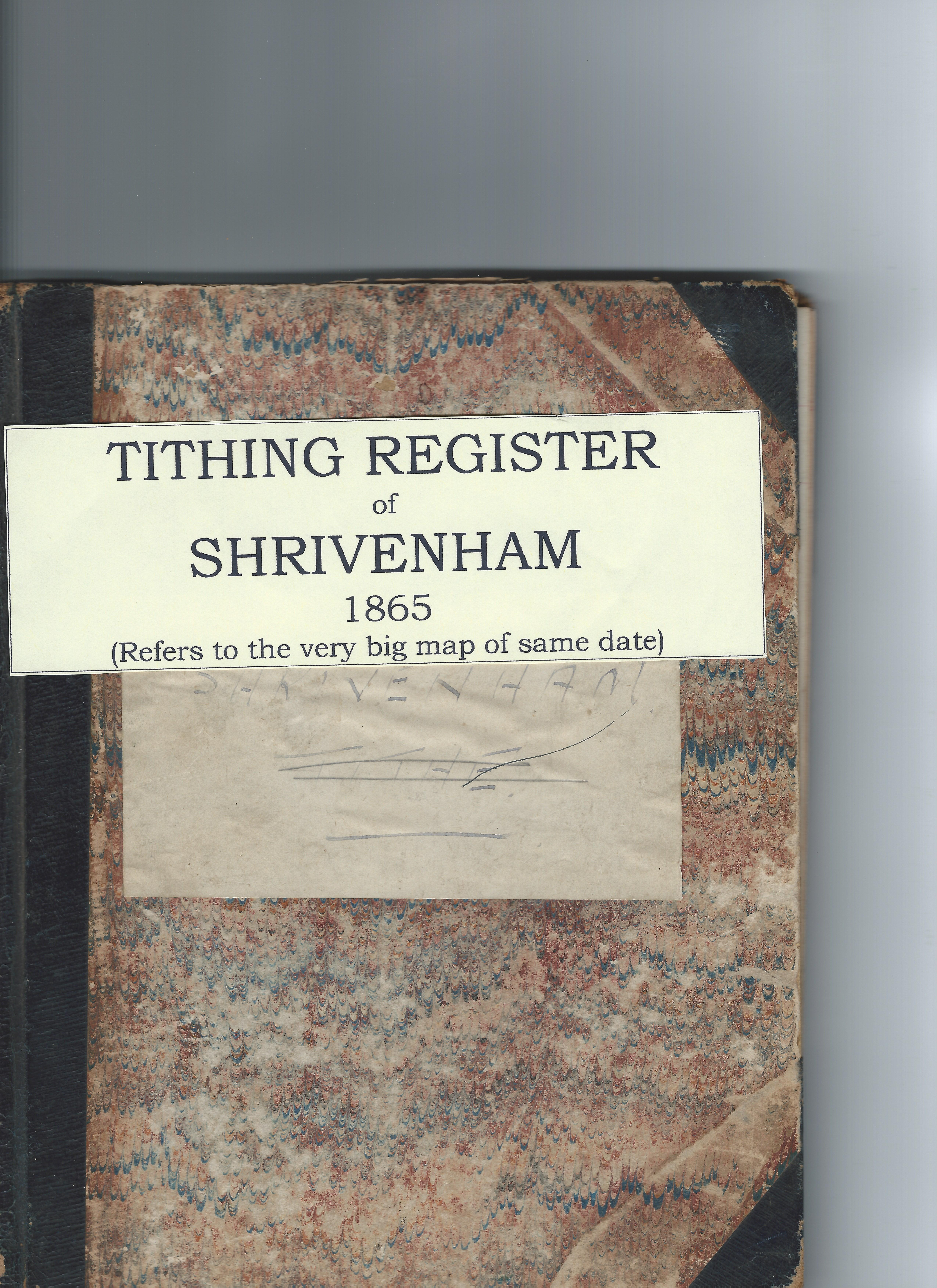 The front cover of the Tithing book
