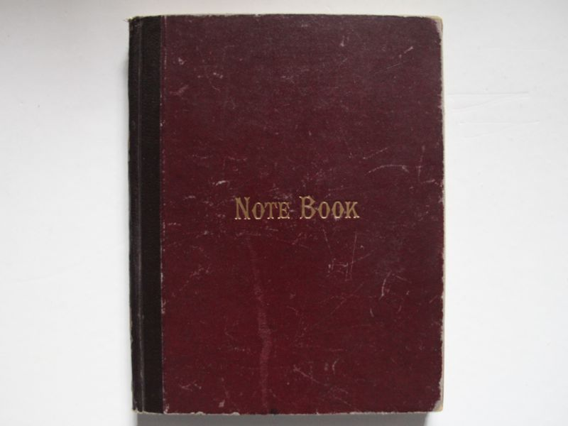 Note Book - Meeting of the trustees