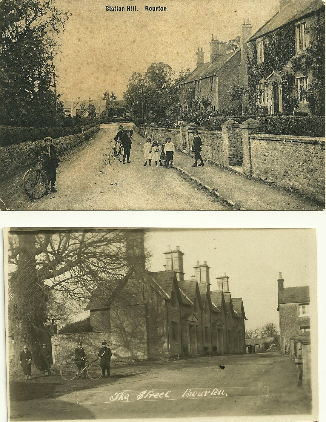 Early 20th Century Views of Bourton