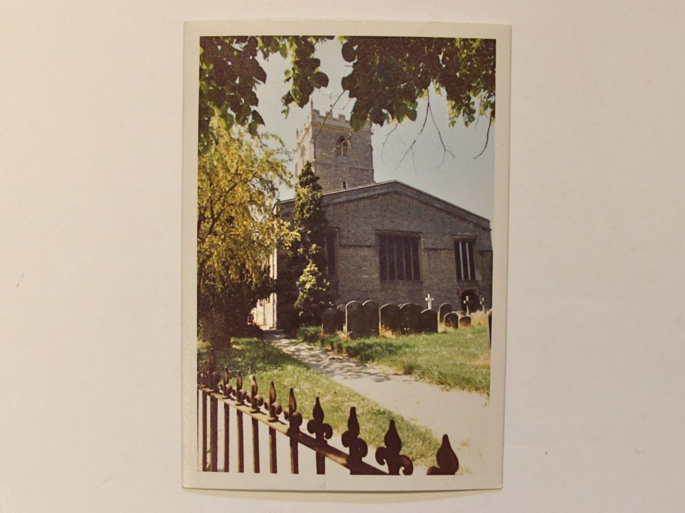 1970 photo of St Andrew's Church Shrivenham
