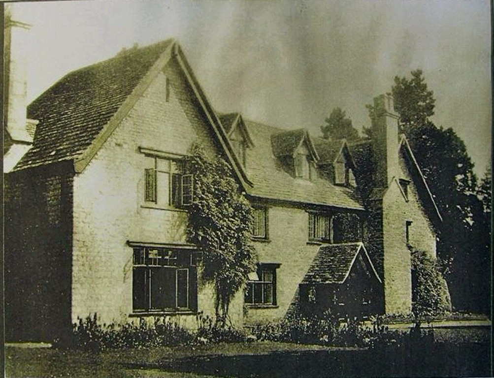 The Manor House - demolished in the 1960s to make way for the houses called Manor Close