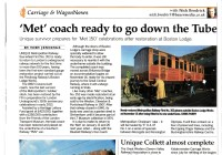 Article from Carriage & Wagon News Jan 2013, issue No 409