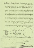Copy of an old indenture