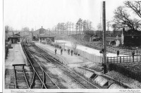 Shrivenham Station circa 1900