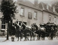 Coach & Four outside the Barrington Arms circa 1900. Photo from the Les Judd Collection SHS