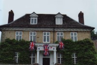 Elm Tree House suitably decorated for the Queens Jubilee. Photo courtesy of Diana Crockett