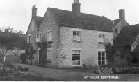 The original photo of Ivy House dated 1910. Photo courtesy of Paul Williams.